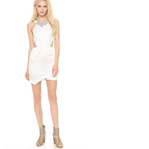Stylestalker XS True Romance White Mini Dress NEW